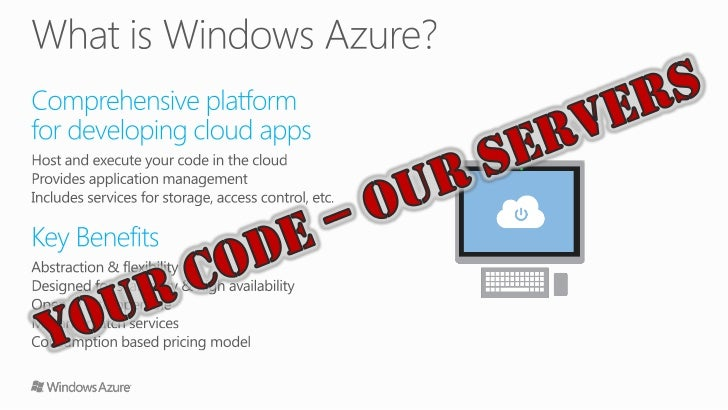 Getting Started with Windows Azure Slide 3