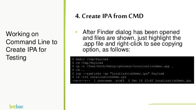• After Finder dialog has been opened and files are shown, just highlight the .app file and right-click to see copying opt...