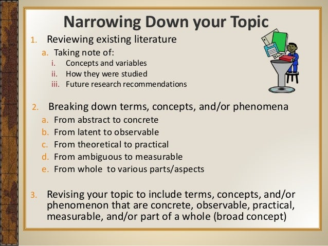 Getting Started With Your Dissertation Proposal Final
