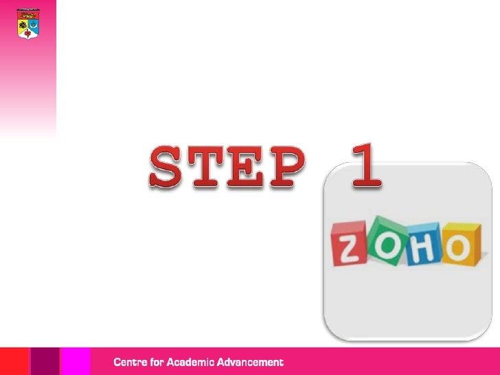 Go to: https://share.zoho.com/homepage