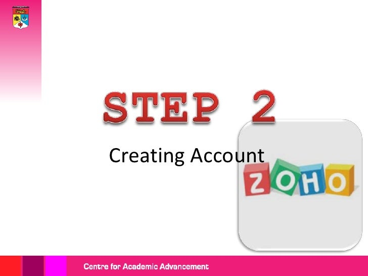 Click 'Sign Up' if               you do not have                  Zoho Share                   account.Or, you can sign in...
