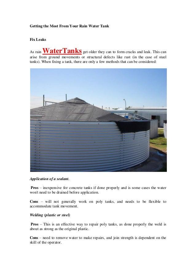 Installing a Rainwater Tank Part 2 ...youtube.com