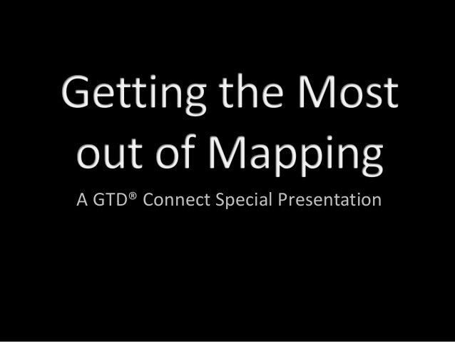 A GTD® Connect Special Presentation