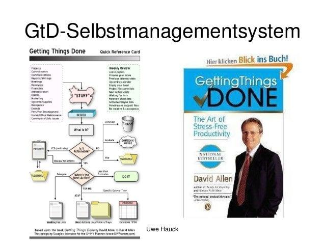GtD-Selbstmanagementsystem  Uwe Hauck