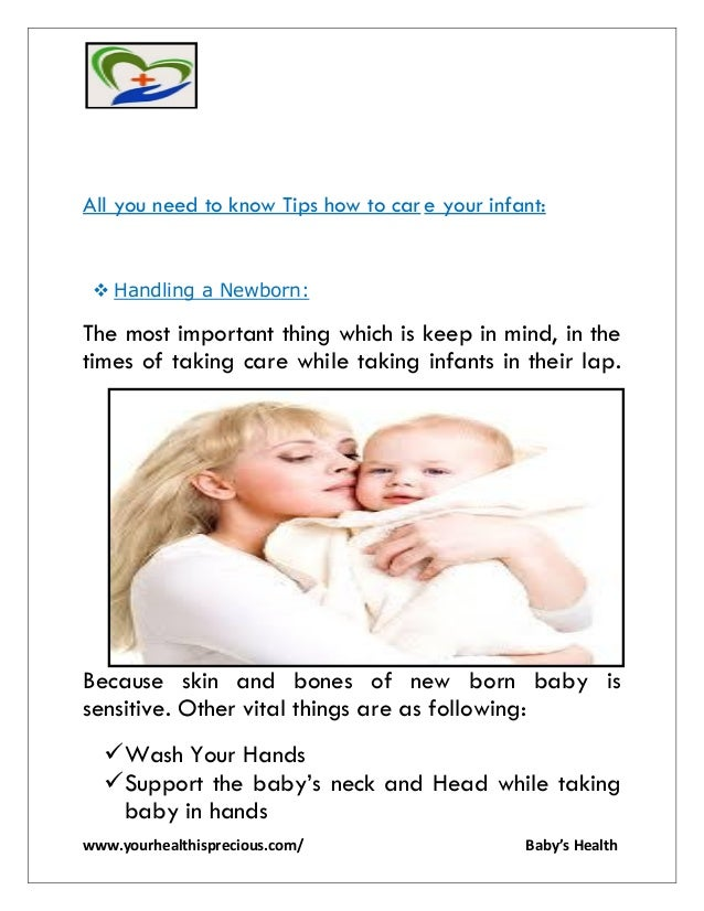 baby care after birth pdf