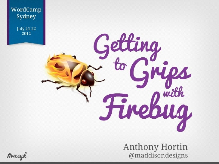 "What is Firebug?""   Firebug integrates with Firefox to put a    wealth of web development tools at    your fingertips while..."