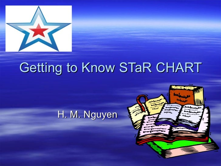 Getting to Know STaR CHART H. M. Nguyen