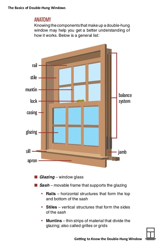 Getting to Know the Double-Hung Window