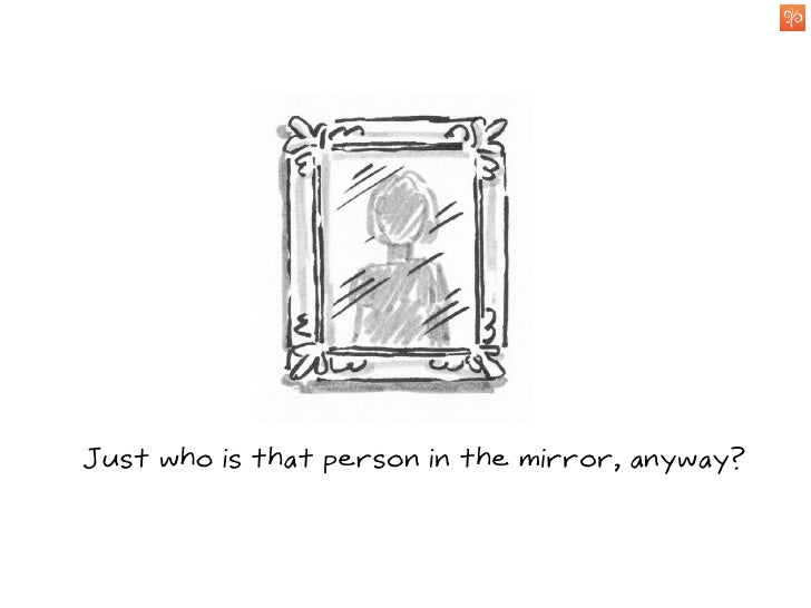 As you become more familiar, the image becomes clearer...