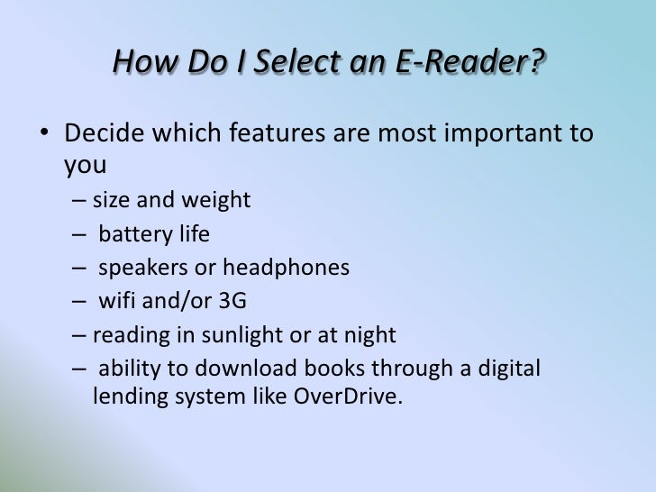 getting to know your kindle nook