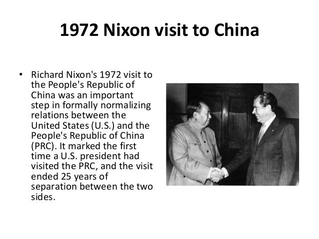 Image result for richard nixon visits china 1972