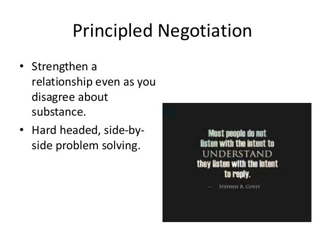 Negotiating Agreement Without Giving In