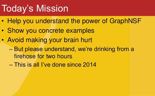 Getting your hands on graphs Slide 3