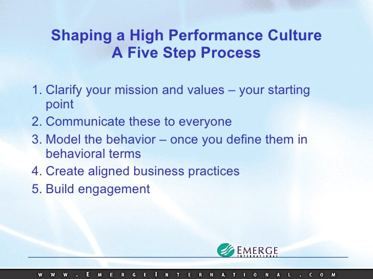 Shift work and organizational culture