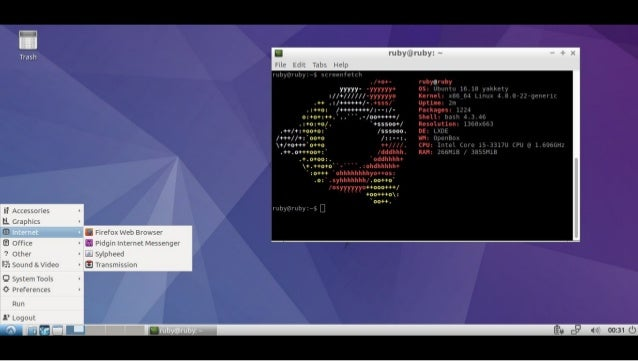 Get to know linux - First steps with Ubuntu