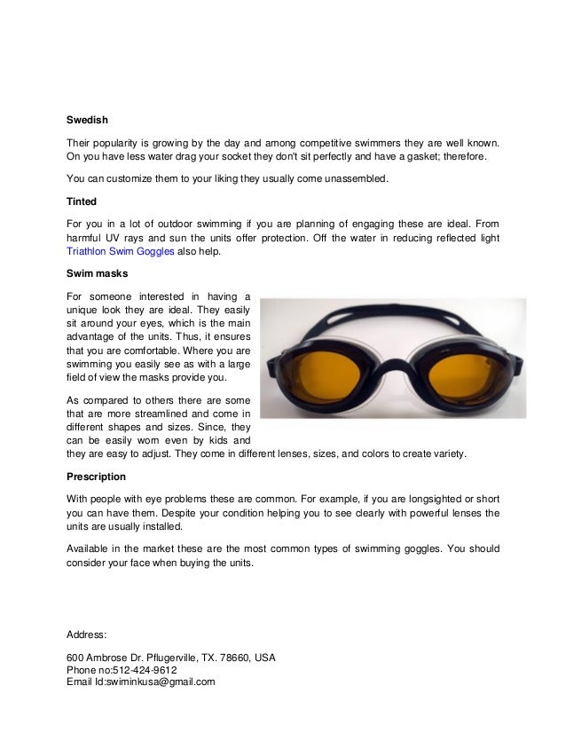 c30ddf1cb116 Get to know these types of swimming goggles