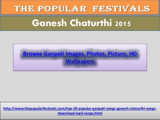 Ganpati | Ganesh Chaturthi top 10 songs in marathi and Hindi