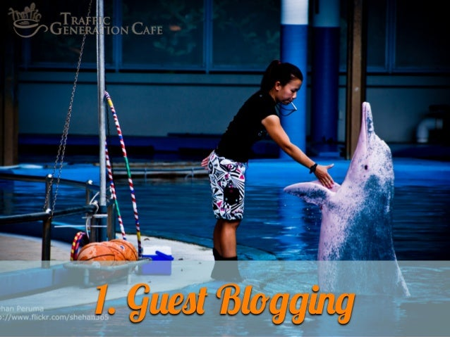 1. Guest Blogging