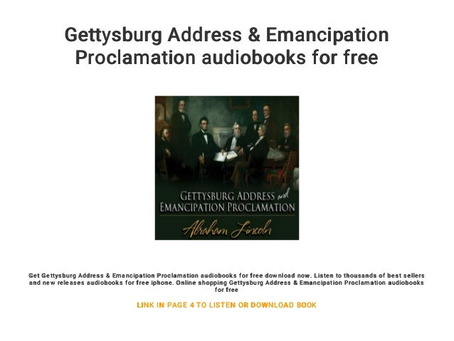 Download the gettysburg address of abraham lincoln book pdf.