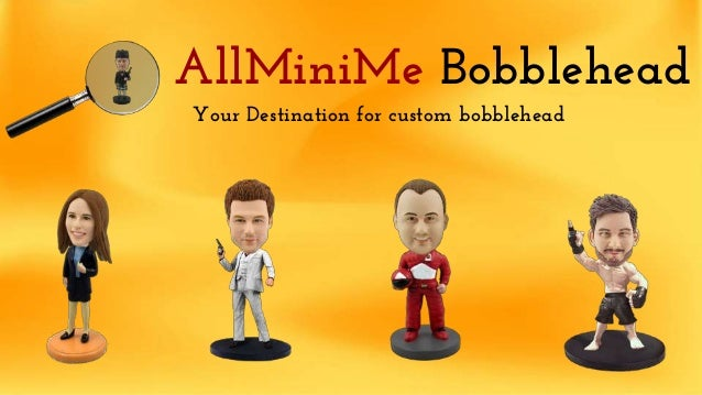 AllMiniMe Bobblehead Your Destination for custom bobblehead