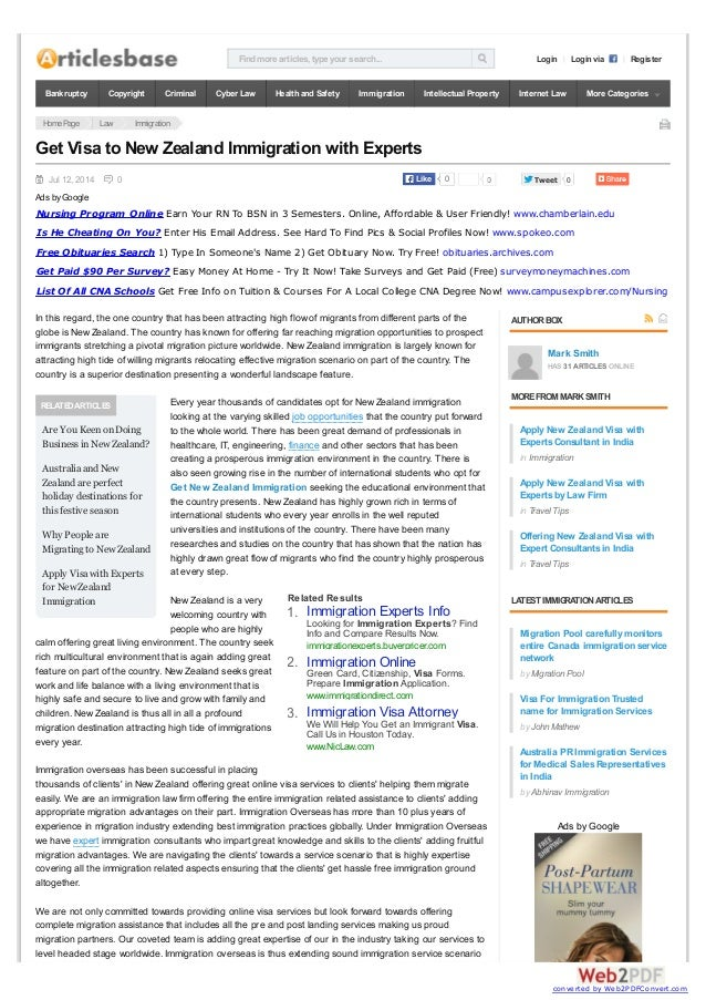 Findmore articles, type your search... Login Login via Register HomePage Law Immigration Jul 12, 2014 0 0 TweetTweet 0 REL...