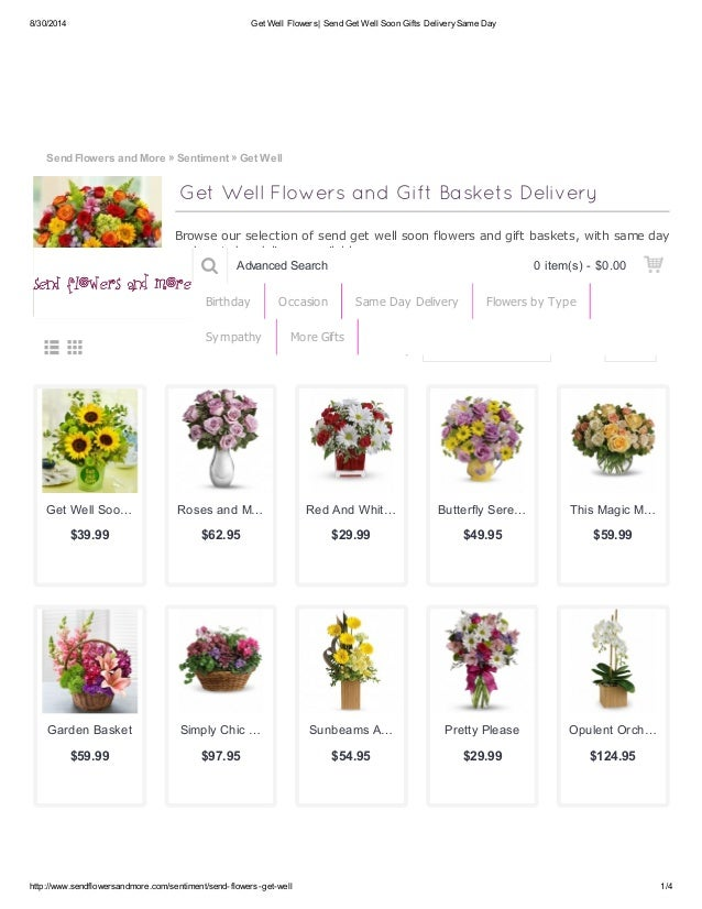 Get Well Soon Flowers Delivery To USA