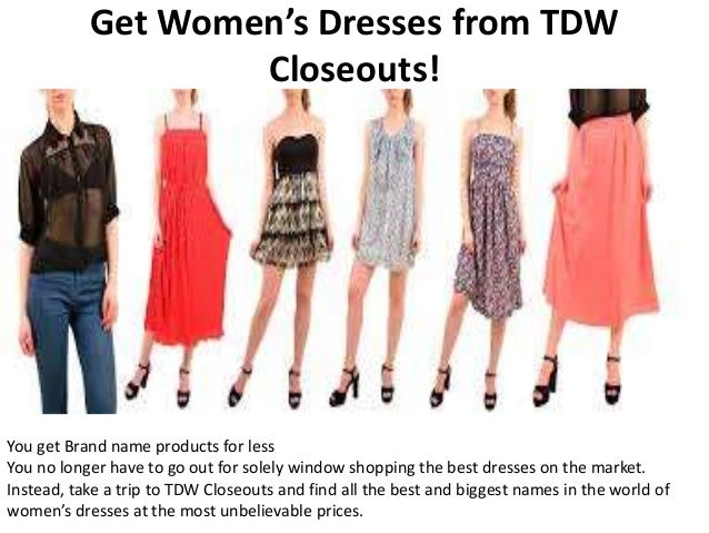 Brand Name Dresses for Less