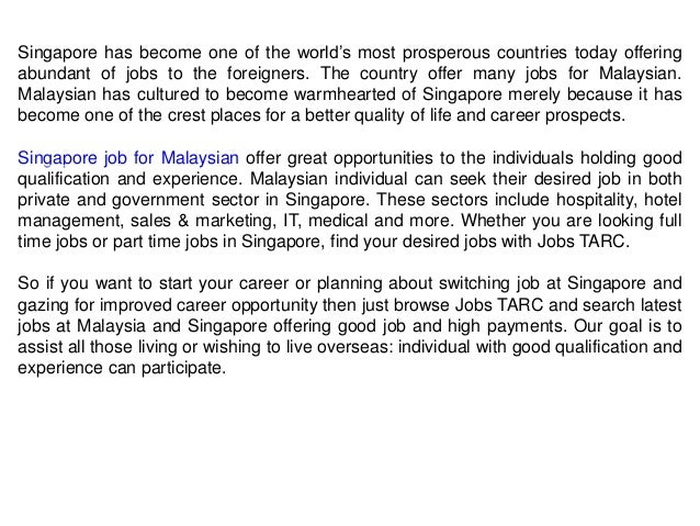 Get Your Desired Job in Malaysia – Jobs TARC