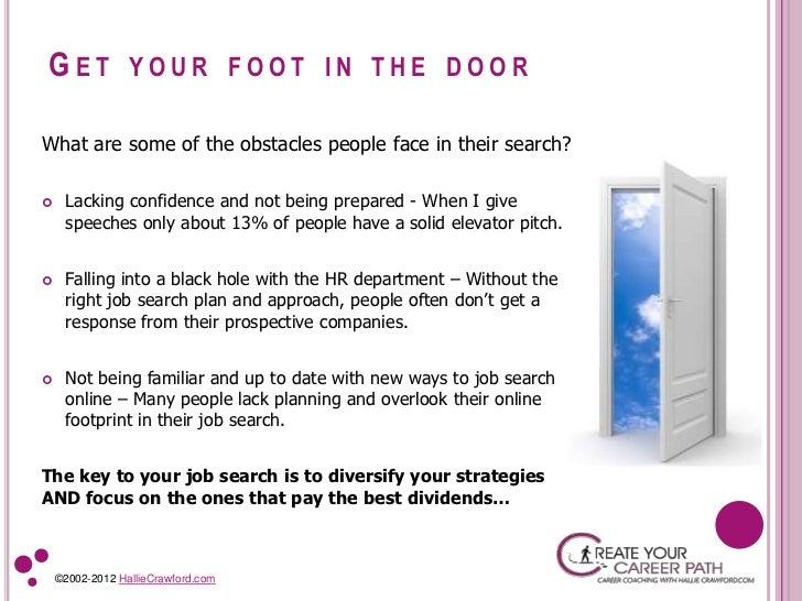 dating foot in the door