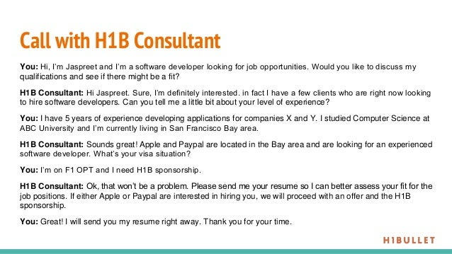 Find an H1B sponsor in only 2 weeks