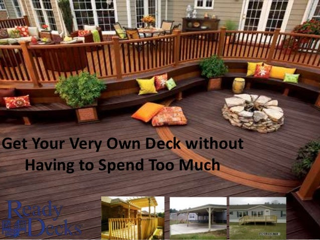 Get Your Very Own Deck without Having to Spend Too Much