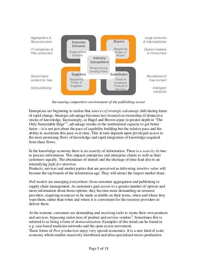 Aggregators & Reconstructors  Buyers  Potential Entrants  IT-companies & Peer producers  Threat of New Entrants  Industry ...