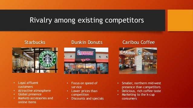 starbucks coffee and rivalry among existing As it is seen from the figure above in value-chain analysis the business activities are divided into two categories: primary activities and support activities.
