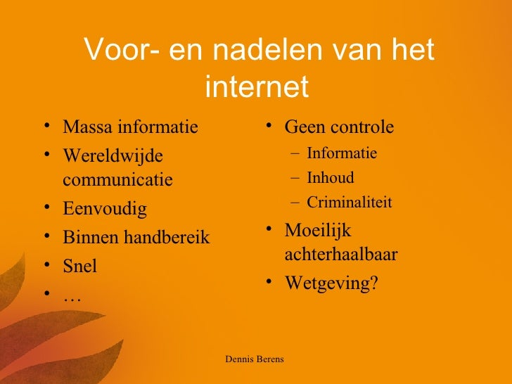 gevaren van Internet Zoznamka
