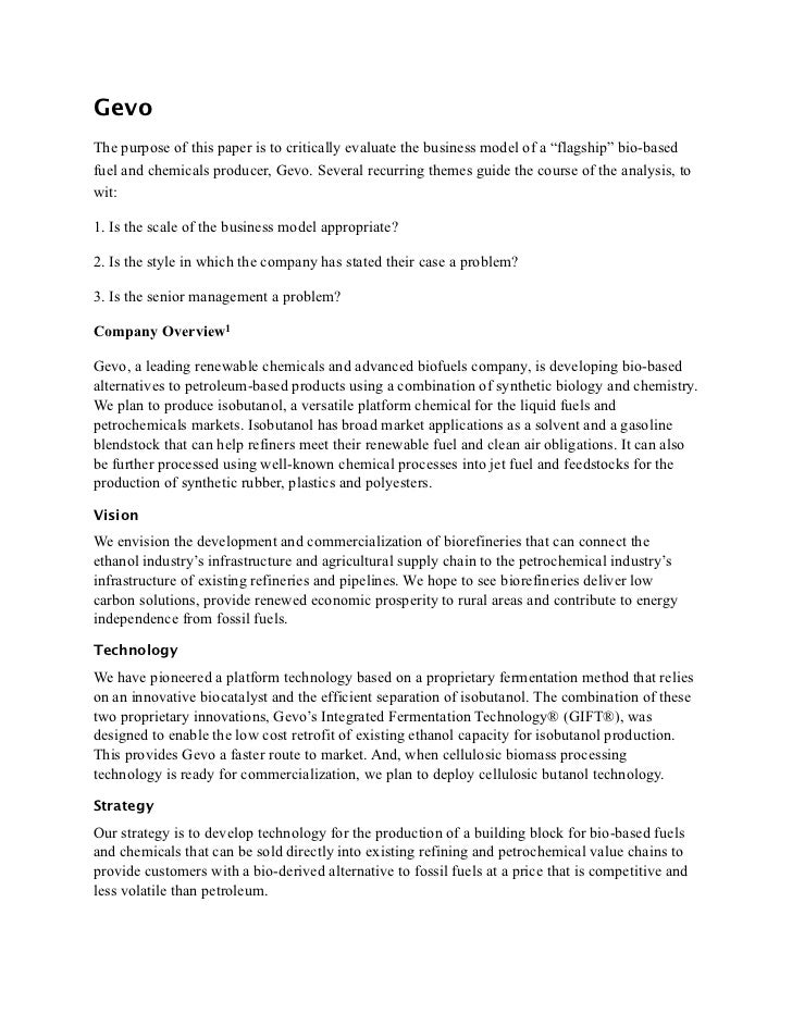 victoria chemicals case study essay The case is about the different ways through which victoria chemicals plc can fund the modernization of the merseyside works project from the corporate.