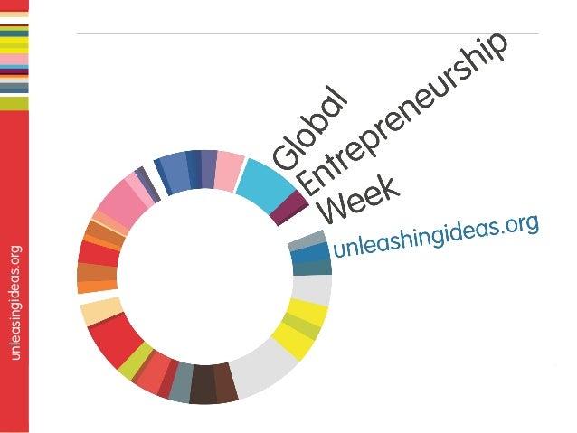 Global Entrepreneurship Week unleasingideas.org