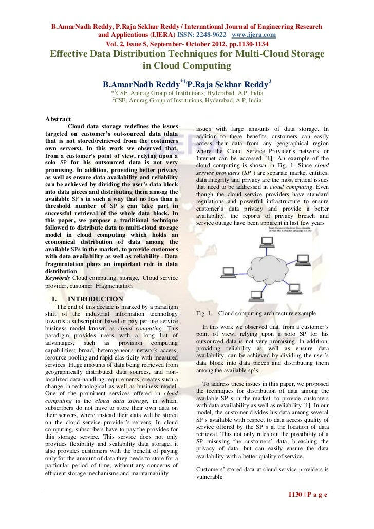 B.AmarNadh Reddy, P.Raja Sekhar Reddy / International Journal of Engineering Research              and Applications (IJERA...