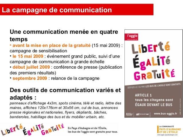 La campagne de communication
