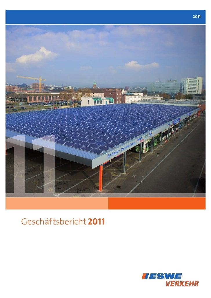 2011011 Geschäftsbericht 2011