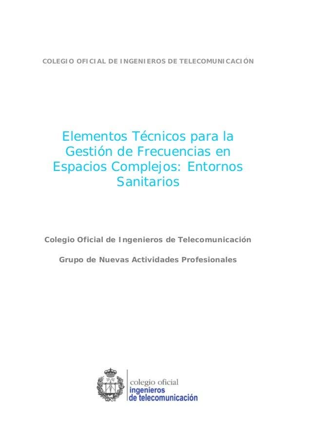 Elementos t cnicos para la gesti n de frecuencias en - Gestion de espacios ...