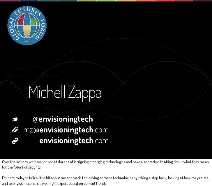 Michell Zappa                @envisioningtech              mz@envisioningtech.com                 envisioningtech.comOver ...