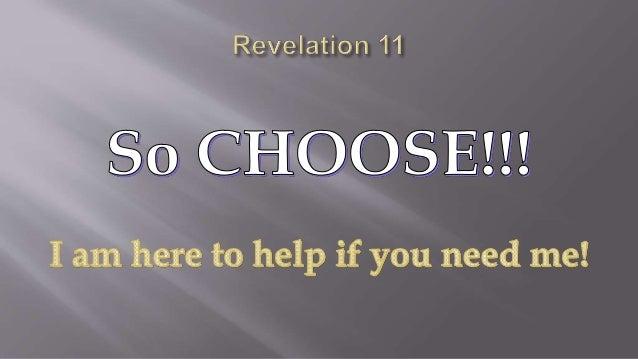 Revelation 11 chapter summary