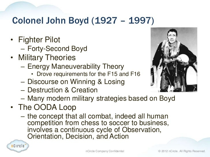 COL John Boyd: Building Snowmobiles and a Fine-tuned Situational Awareness