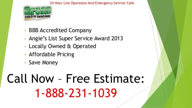 Top Chula Vista Electrician - Gforce Green Electric Solutions Slide 2