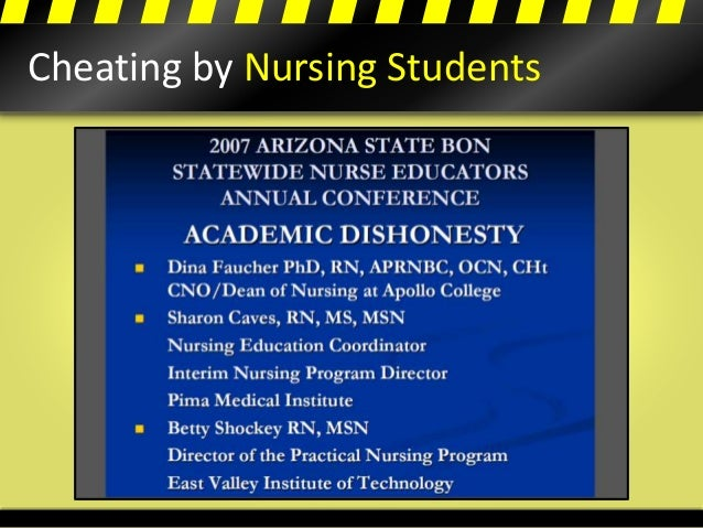 Cheating by Nursing Students
