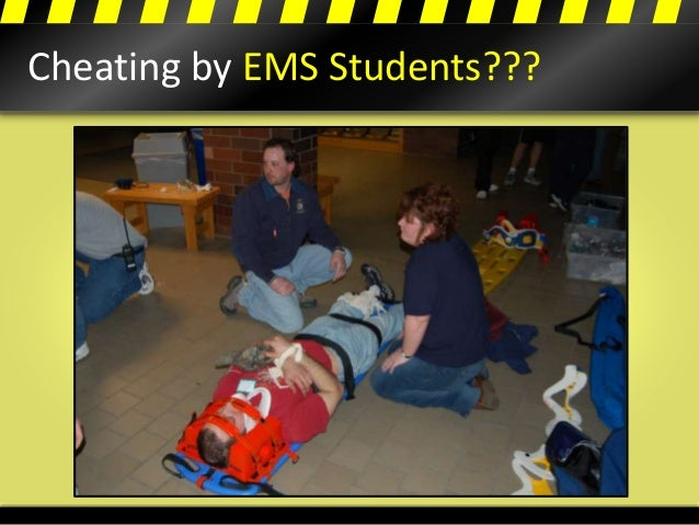 Cheating by EMS Students???