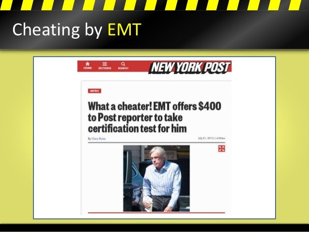 Cheating by EMT