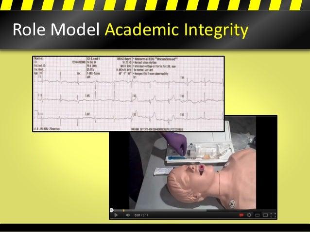 Role Model Academic Integrity