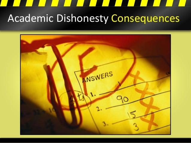 Academic Dishonesty Consequences