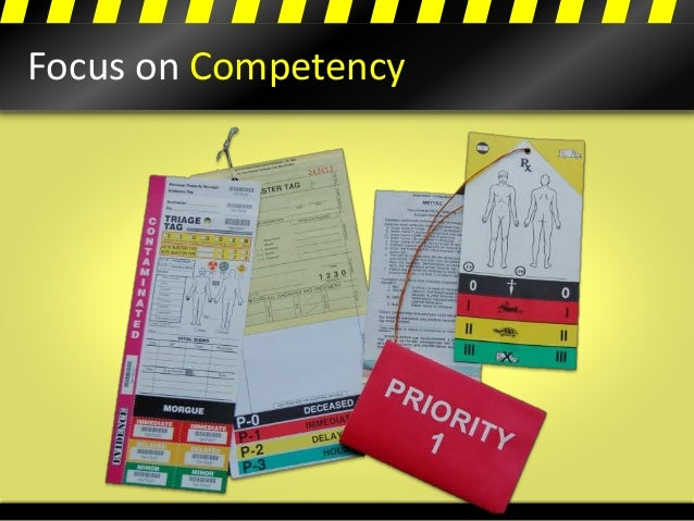 Focus on Competency
